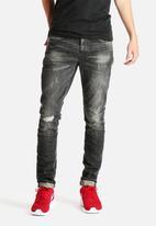 Selected Homme - Fabios Black Skinny Jeans