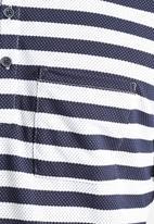 Native Youth - Polka Stripe Polo