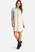 VILA - Cloud Oversized Denim Shirt