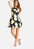 AX Paris - Floral Print Skater Dress