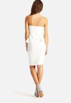 AX Paris - Boobtube Peplum Dress