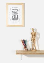 Superbalist Wall Art - Amazing Things
