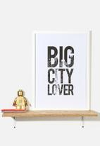 Superbalist Wall Art - Big City Lover