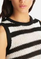 MINKPINK - Get Ready Asymmetrical Knit Top