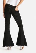 Glamorous - Flare Zip Jeans