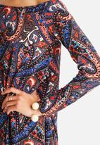 Glamorous - Folk Off Shoulder Dress