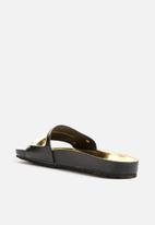 Pieces - Karo Leather Sandal