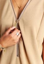 AX Paris - Oversized Zip Dress