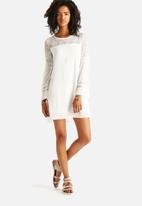 The Lot - Mary Jane Bell Sleeve Dress