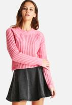 Noisy May - Mob O-Neck Knit Sweater
