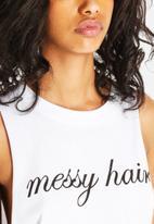 The Lot - Messy Hair Tank