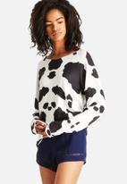 The Lot - Ink Blot Long Sleeve top