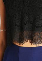 The Lot - Under Current Lace Crop