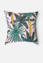 Sixth Floor - Palm Leaf Cushion