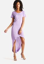 The Lot - Plain Sight HiLo Dress