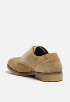 S.P.C.C. - Suede Postman Shoe