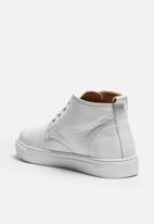 S.P.C.C. - Leather High Top Sneaker