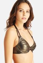 Freya - Gold Rush Bandless Halter Bikini Top