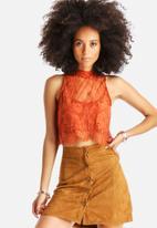 Glamorous - Lace Crop Top