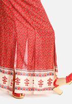 Glamorous - Border Print Skirt
