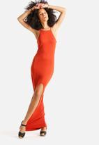 Glamorous - Side Split Dress