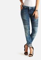 Noisy May - Eve Super Slim Biker Jeans
