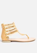 Gino Paoli - Gold Ankle Detail Thong