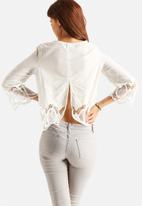 Glamorous - Embroidered Top