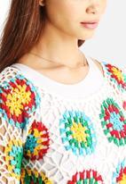 Glamorous - Bright Crochet Dress