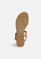 Gino Paoli - Buckle and Studded Flat Thong