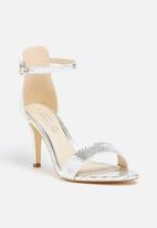 Gino Paoli - Metallic Cuffed Heel Sandal