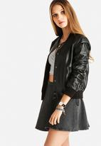 Vero Moda - Vote Black PU Jacket