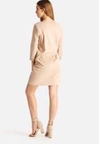 Vero Moda - Rina 3/4 Faux Suede Dress