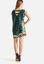 Vero Moda - Bardot Scarf Short Dress