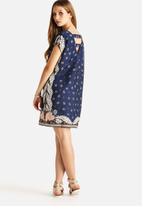 Vero Moda - Bardot Scarf Short Dress