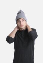 84efbdf20c01e Ghost Town Beanie- Grey Carhartt WIP Headwear