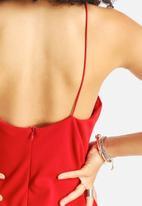Glamorous - Crossed Neck Dress