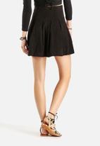 Vero Moda - Munja Faux Suede Short Skirt