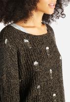 Noisy May - Rave Boatneck Knit Top