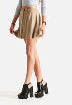 Vero Moda - Fauna Faux Suede Skirt