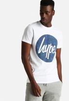 Hype - Cyan Circle Print Tee