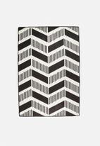 Superbalist Rugs - Mono Arrows Printed Rug