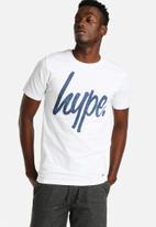 Hype - Cyan Speckle Tee