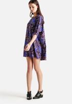 Noisy May - Eyes Print 3/4 Dress