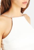 AX Paris - Plain String Midi Dress