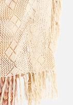 Glamorous - Fringed Lace Top