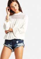 ONLY - Rozi 3/4 Crochet Top