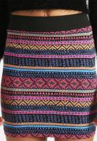 ONLY - Azteka Short Skirt