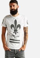 Criminal Damage - Splatter Fluer T-Shir