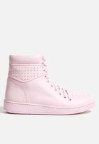 Travel Fox - Calf Leather Hi-Top